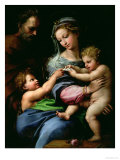 The Virgin of the Rose, circa 1518 Reproduction procédé giclée par Raphael