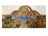 The Last Judgement, Altarpiece from Santa Maria Degli Angioli, circa 1431 Giclee Print by  Fra Angelico