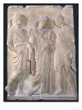 Orpheus, Eurydice and Hermes Giclee Print