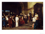 Christ Before Pilate Giclee Print by Mihaly Munkacsy