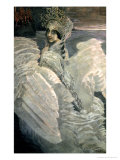 The Swan Princess, 1900 Premium Giclee Print by Mikhail Aleksandrovich Vrubel