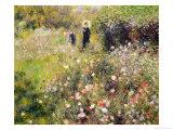 Summer Landscape Giclée-tryk af Pierre-Auguste Renoir