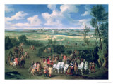 The Royal Cortege Giclee Print by Adam Frans van der Meulen