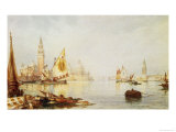 View of Venice Giclee Print by C.b. Hardy