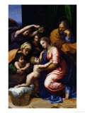 Holy Family, 1518 Reproduction proc&#233;d&#233; gicl&#233;e par Raphael 