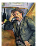 The Smoker, 1895 Giclee Print by Paul Cézanne