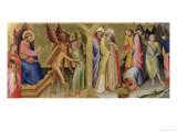 St. James and Hermogenes and the Martyrdom of St. James Giclée-tryk af Lorenzo Monaco