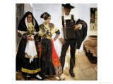 Salamancans, 1912 Giclee Print by Joaqu&#237;n Sorolla y Bastida