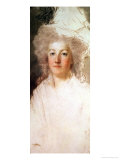 Unfinished Portrait of Marie-Antoinette 1770-1819 Giclee Print by Alexandre Kucharski