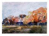 Autumn, Sussex Giclee Print by Hercules Brabazon Brabazon
