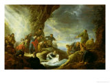 The Raising of Lazarus Giclee Print by Benjamin Gerritsz. Cuyp