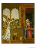 The Annunciation, 1495 Giclee Print by Giovanni Battista Cima Da Conegliano