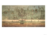 "Garden Paintings from the So-Called ""Villa of Livia"", Primaporta, Rome, circa 20 BC Giclee Print"