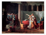 Lictors Bearing to Brutus the Bodies of His Sons, 1789 Giclee Print by Jacques-Louis David