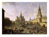 Red Square, Moscow, 1801 Giclee Print by Fedor Yakovlevich Alekseev