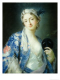Portrait of a Woman Giclee Print by Rosalba Giovanna Carriera