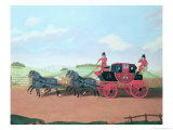 The Liverpool and London Royal Mail Coach, 1812 Giclee Print by Thomas Sidney Cooper