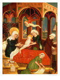 Birth of Mary Giclee Print by Leinhart Von Brixen