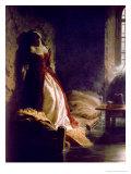 Princess Tarakanova, 1864 Giclee Print by Konstantin Dmitrievich Flavitsky