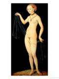 Venus Giclee Print by Lucas Cranach the Elder