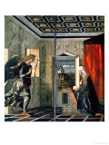 The Annunciation Giclee Print by Giovanni Bellini