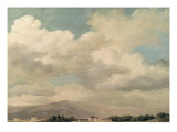 Study of the Sky at Quirinal Giclee Print by Pierre Henri de Valenciennes