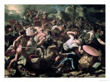 The Battle Giclee Print by Nicolas Poussin