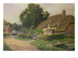 The Coming of the Haycart Giclee Print by Arthur Claude Strachan
