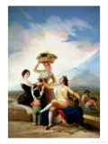 Autumn, or the Grape Harvest, 1786-87 Reproduction procédé giclée par Francisco de Goya
