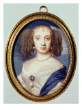 Duchess of Orleans, circa 1665 Giclee Print by Samuel Cooper