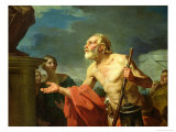 Diogenes Asking for Alms, 1767 Giclee Print by Jean Bernard Restout