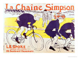 The Simpson Chain, 1896 Giclee Print by Henri de Toulouse-Lautrec