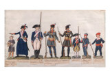 Characters of the French Revolution Giclee Print by Le Sueur Brothers