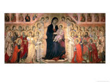 The Maesta, 1308-11 Gicle-tryk af Duccio di Buoninsegna