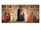 The Maesta, 1308-11 Giclée-tryk af  Duccio di Buoninsegna