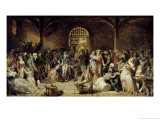 The Call for the Last Victims of the Terror, 7-9 Thermidor, Year 2, circa 1850 Giclee Print by Charles Louis Lucien Muller