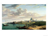 A View of Montevideo Giclee Print by William Marlow