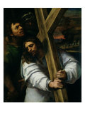 Jesus Carrying the Cross, circa 1535 Giclée-tryk af Sebastiano del Piombo