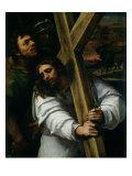 Jesus Carrying the Cross, circa 1535 Premium Giclee Print by Sebastiano del Piombo