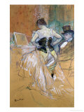 "Woman at Her Toilet, Study for ""Elles"", circa 1896 Giclee Print by Henri de Toulouse-Lautrec"