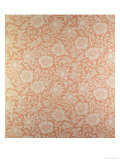 """Mallow"" Wallpaper Design Giclee Print by William Morris"