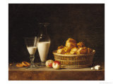 The Small Collation, or the Carafe of Orgeat, 1787 Giclee Print by Henri Roland De La Porte