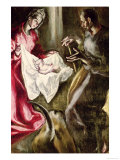 The Nativity, 1587-1614 Giclee Print by  El Greco
