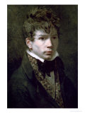 Portrait of the Young Ingres 1790s Giclee Print by Jacques-Louis David