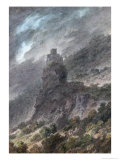 View of a Schloss Between Bolzano and Trent Giclee Print by John Robert Cozens