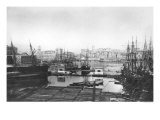 View of the Port of Marseilles, Late 19th Century Giclee Print