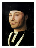 Portrait of an Unknown Man Reproduction procédé giclée par Antonello da Messina