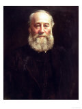 Portrait of James Prescott Joule Reproduction proc&#233;d&#233; gicl&#233;e par John Collier