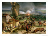 Battle of Valmy, 20th September 1792, 1835 Giclee Print by Jean Baptiste Mauzaisse
