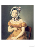 The Artist's Wife Catharine, 1825 Giclee Print by Christian-albrecht Jensen